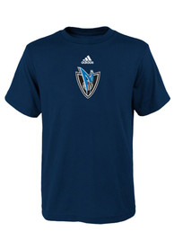 Dallas Mavericks Boys Blue Boys 4-7 Pregame T-Shirt