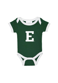 Eastern Michigan Eagles Baby Green Ringer One Piece