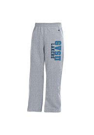 Grand Valley State Lakers Youth Grey Open Bottom Sweatpants