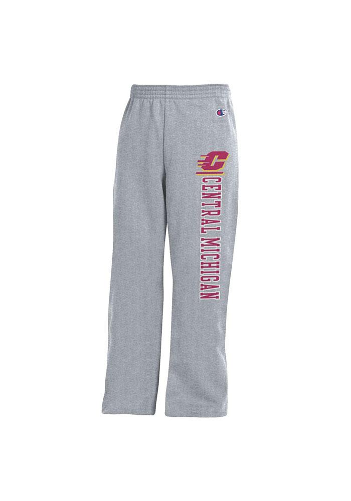 Central Michigan Chippewas Youth Grey Open Bottom Sweatpants - 14750526 475b71164
