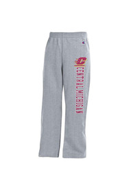Central Michigan Chippewas Youth Grey Open Bottom Sweatpants