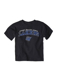 Grand Valley State Lakers Toddler Black Arch T-Shirt