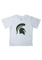 Michigan State Spartans Infant Logo Short Sleeve T-Shirt White