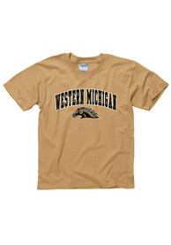 Western Michigan Broncos Youth Gold Arch T-Shirt