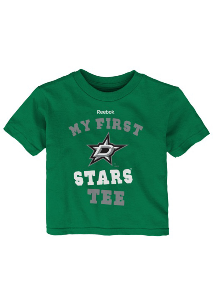 Dallas Stars Infant My First Short Sleeve T-Shirt Green - Image 1
