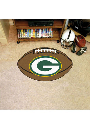 Green Bay Packers 22x35 Football Interior Rug