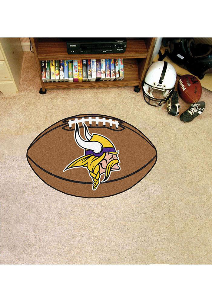 Minnesota Vikings 22x35 Football Interior Rug - Image 1