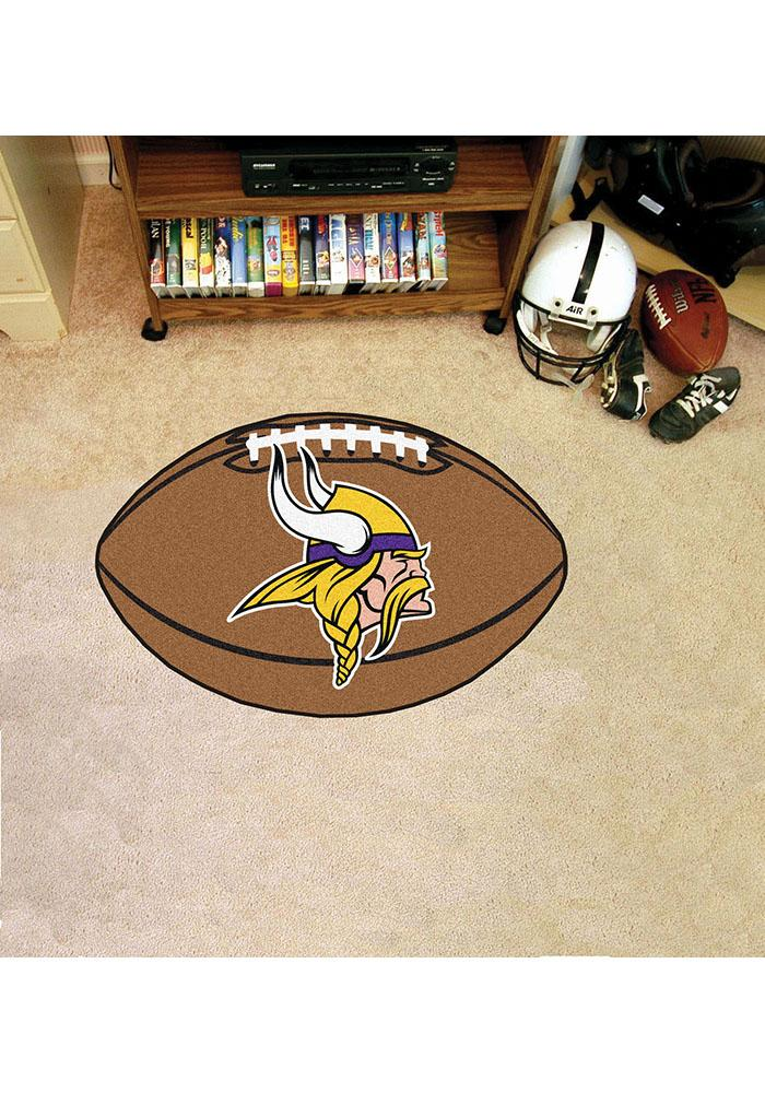 Minnesota Vikings 22x35 Football Interior Rug - Image 2