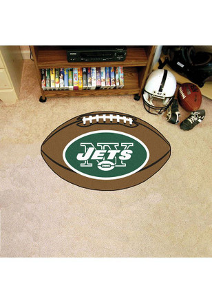 NY Jets 22x35 Football Interior Rug