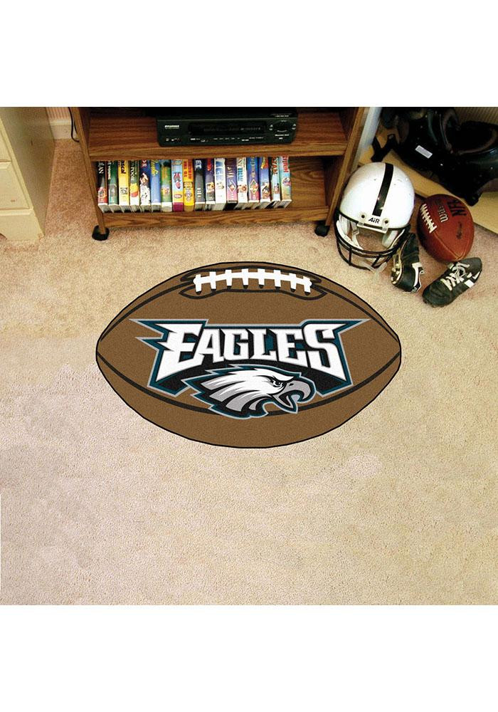 Philadelphia Eagles 22x35 Football Interior Rug - Image 1