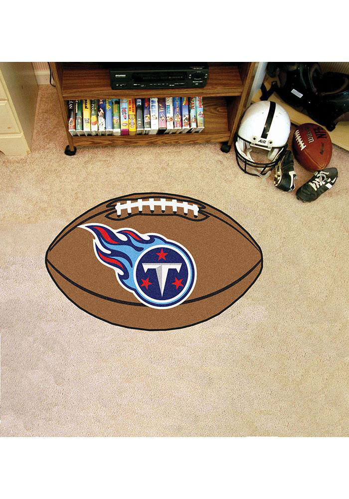 Tennessee Titans 22x35 Football Interior Rug - Image 1
