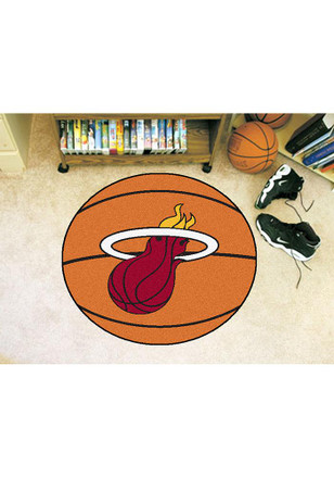 Miami Heat 27` Basketball Auto Car Mat