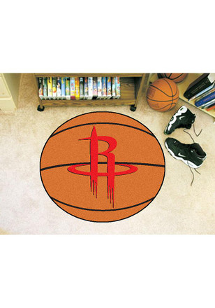 Houston Rockets 27` Basketball Interior Rug