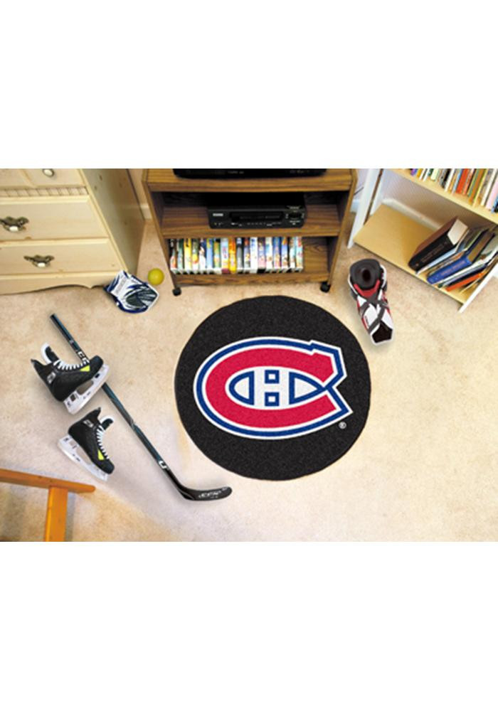 Montreal Canadiens 27` Puck Auto Car Mat - Image 1