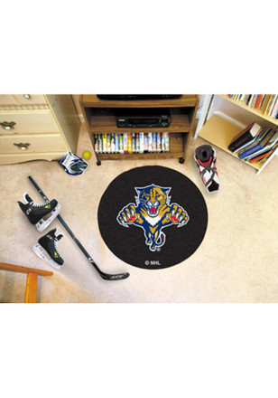Florida Panthers 27` Puck Interior Rug