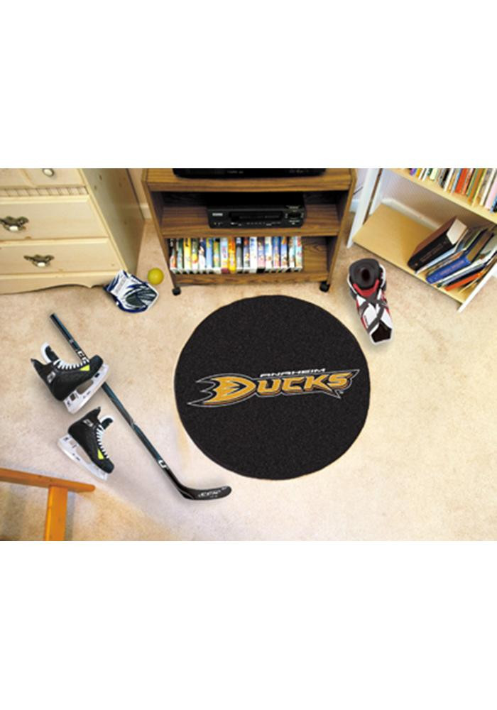 Anaheim Ducks 27` Puck Auto Car Mat - Image 1