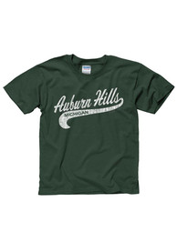 Auburn Hills Youth Green City Tailsweep Short Sleeve T Shirt