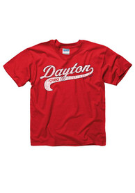 Dayton Youth Red City Tailsweep Short Sleeve T Shirt