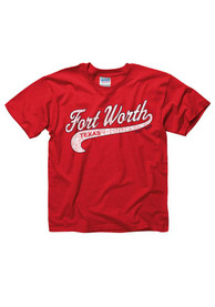 Fort Worth Youth Red City Tailsweep Tee