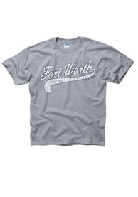 Fort Worth Youth Grey City Tailsweep Tee