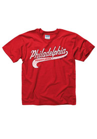 Philadelphia Youth Red City Tailsweep Short Sleeve T Shirt