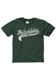 Philadelphia Youth Green City Tailsweep Short Sleeve T Shirt