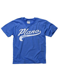 Plano Youth Blue City Tailsweep Tee