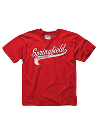 Springfield Youth Red City Tailsweep Short Sleeve T Shirt