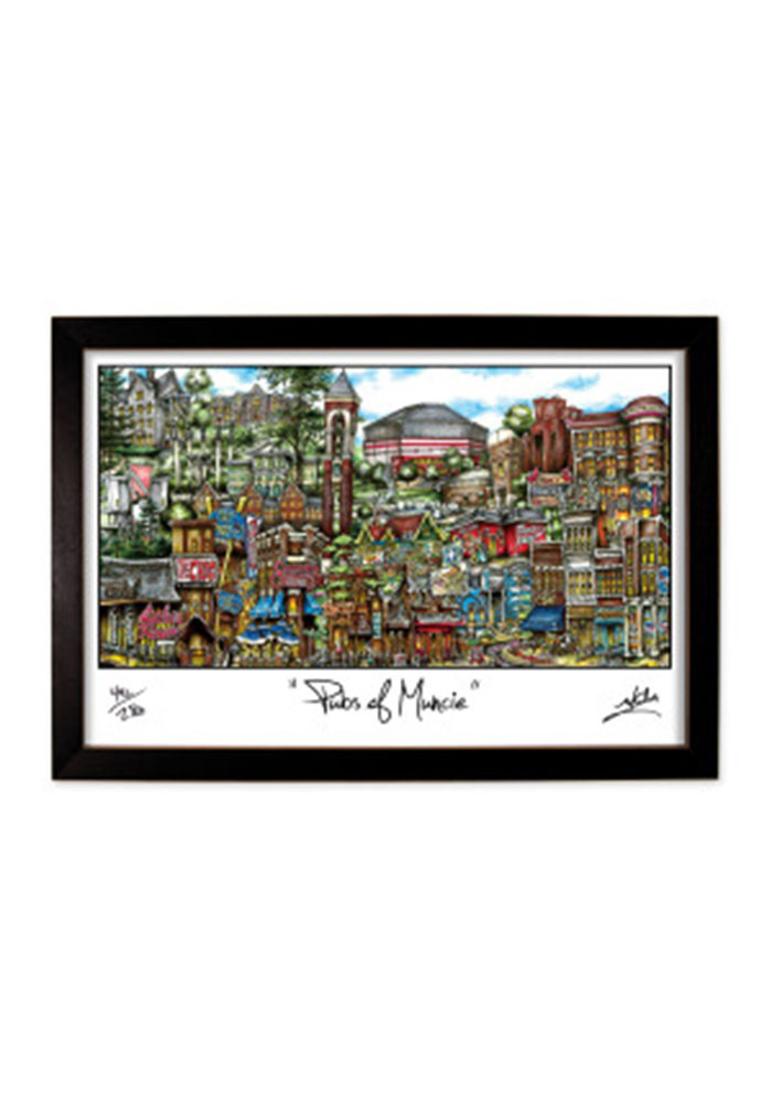 Ball State 12 X 18 Framed Print Wall Art - Image 1