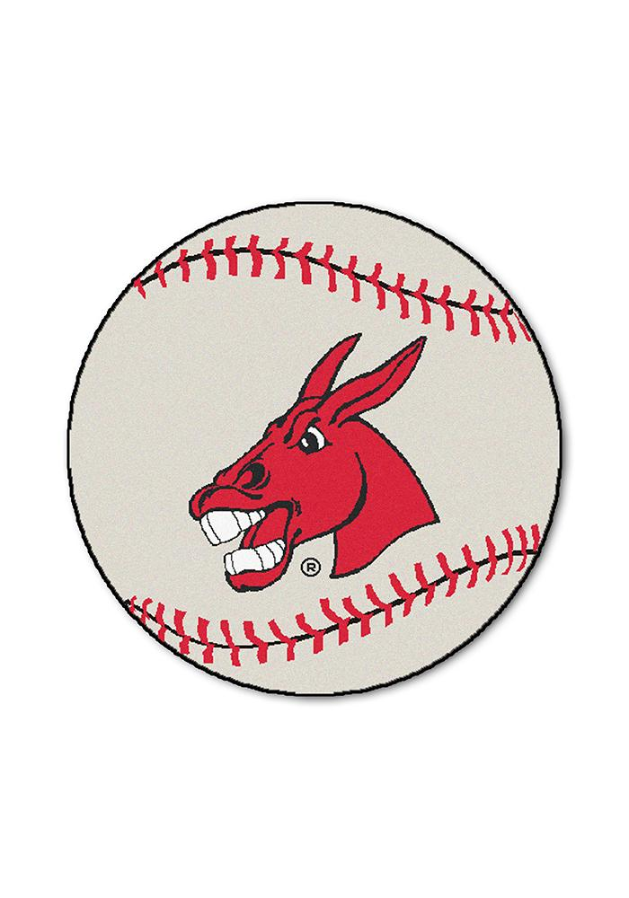 Central Missouri Mules 27` Baseball Interior Rug - Image 1