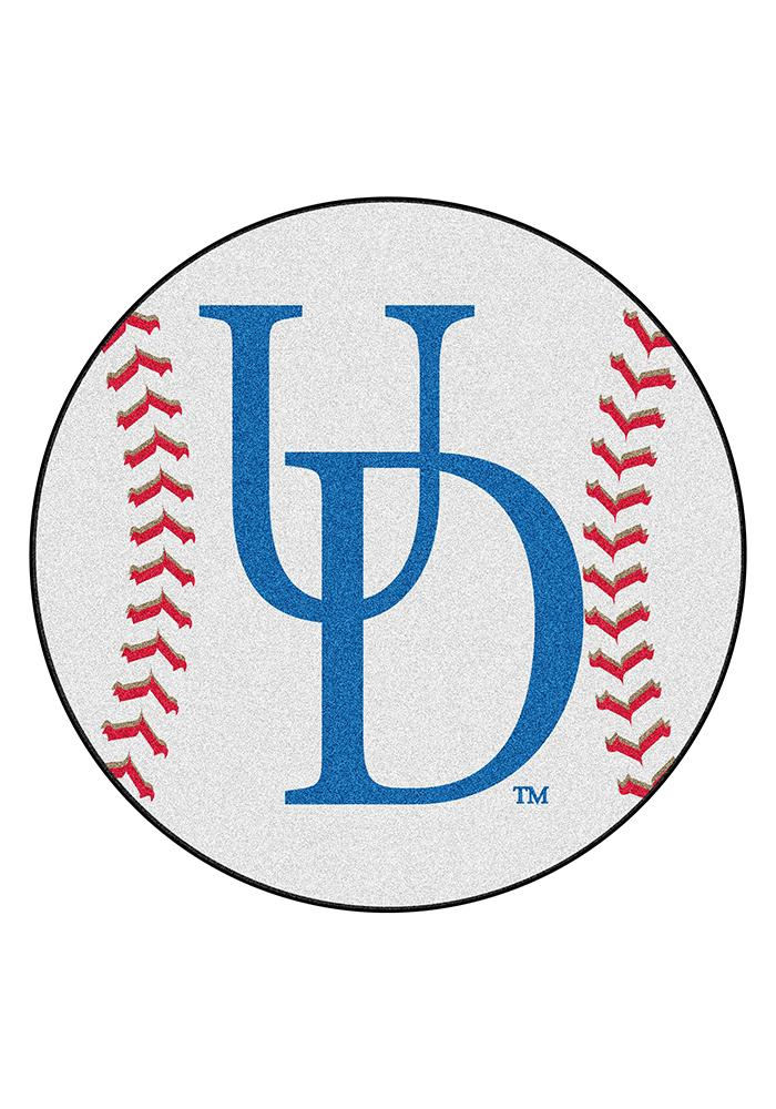 Delaware Fightin' Blue Hens 27' Baseball Interior Rug - Image 1