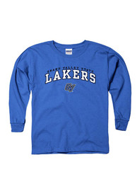 Grand Valley State Lakers Youth Blue Arch T-Shirt