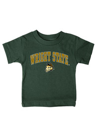 Wright State Raiders Infant Arch T-Shirt - Green