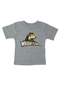 c72a4105 Wright State Raiders Infant Mascot Short Sleeve T-Shirt Grey