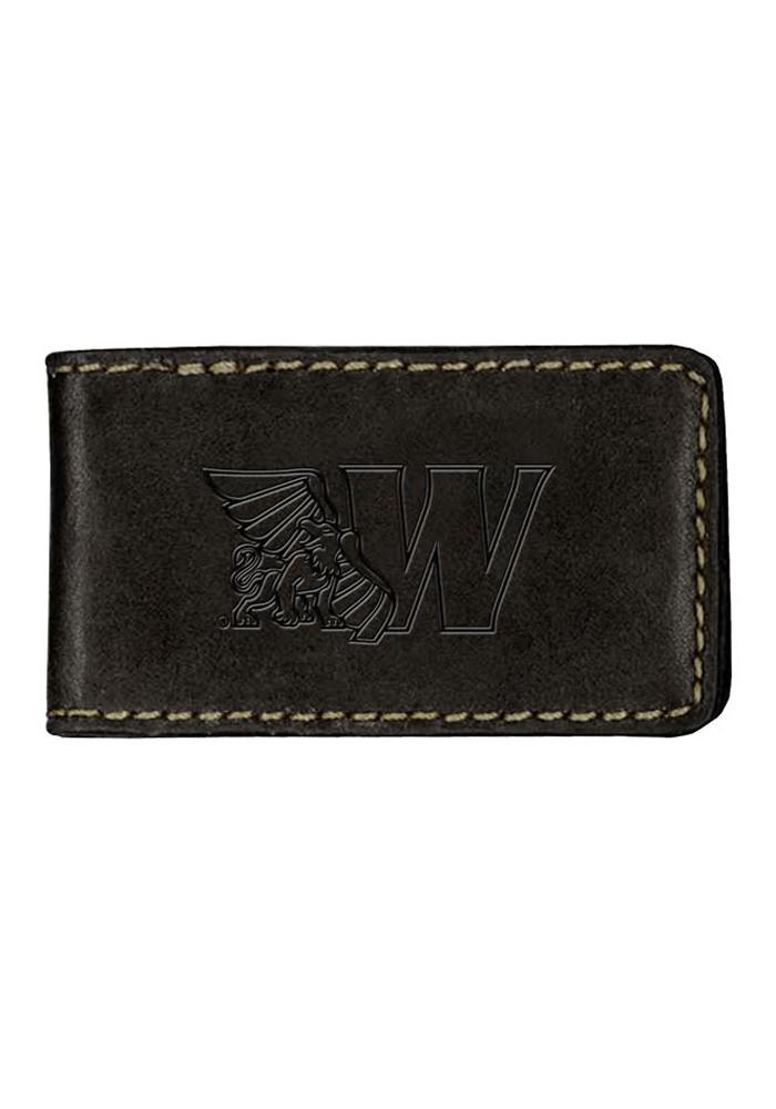 Missouri Western Griffons Contrast Stitch Mens Money Clip - Image 1