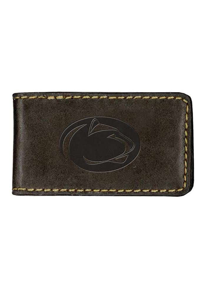 Penn State Nittany Lions Contrast Stitch Mens Money Clip - Image 1