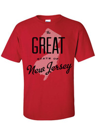 New Jersey Red The Great State of Tee