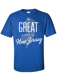 New Jersey Blue The Great State of Tee