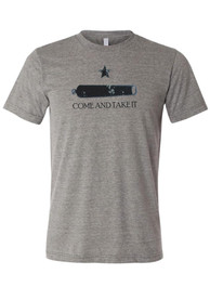 Texas Grey Come and Take It Short Sleeve T Shirt