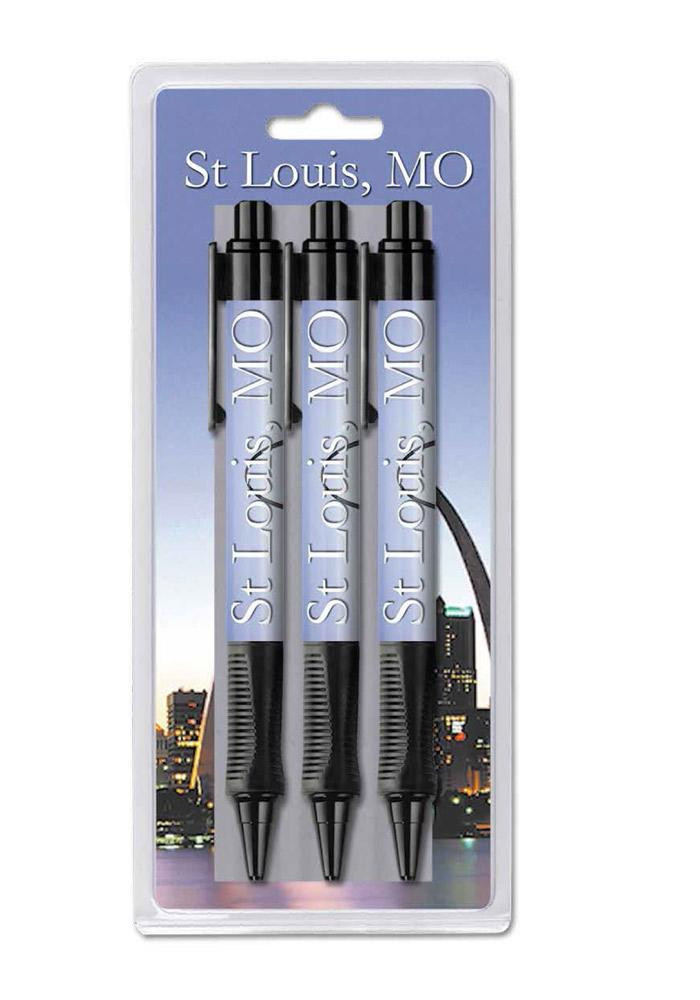 St. Louis Arch Grip Pen - Image 1