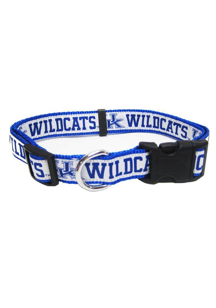 Kentucky Wildcats Nylon Web Pet Collar - Image 1