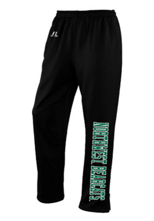 Northwest Missouri State Bearcats Mens Black Performance Pants