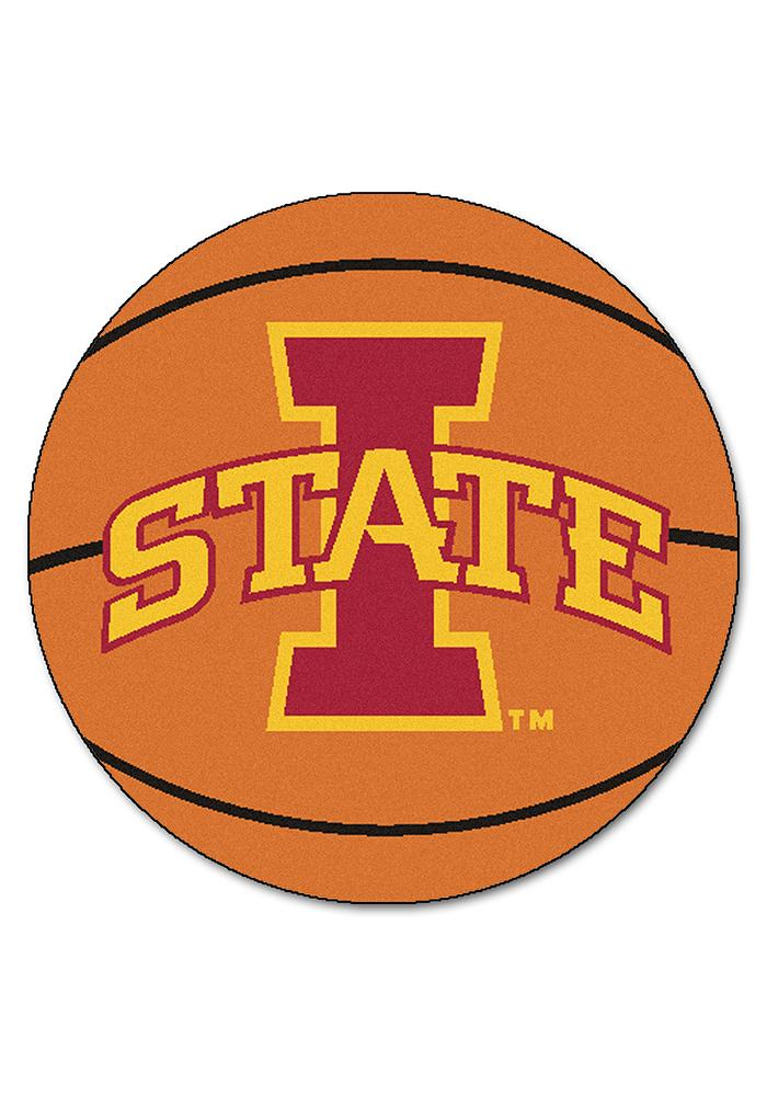 Iowa State Cyclones 27` Basketball Interior Rug - Image 1
