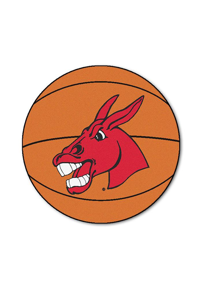 Central Missouri Mules 27` Basketball Interior Rug - Image 1