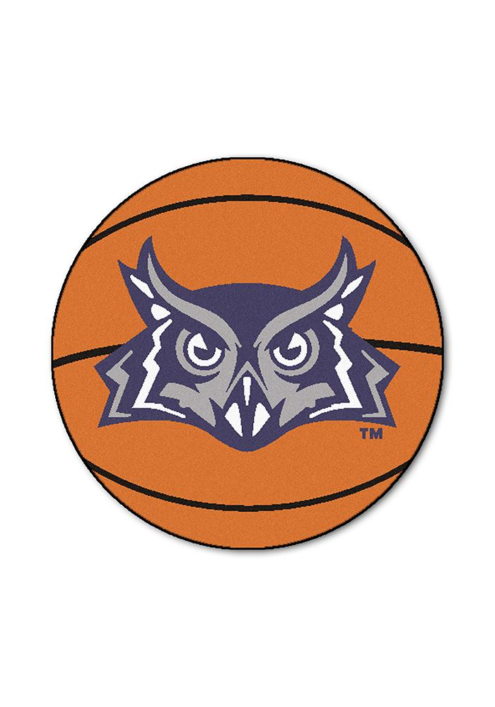 Rice Owls 27` Basketball Interior Rug - Image 1
