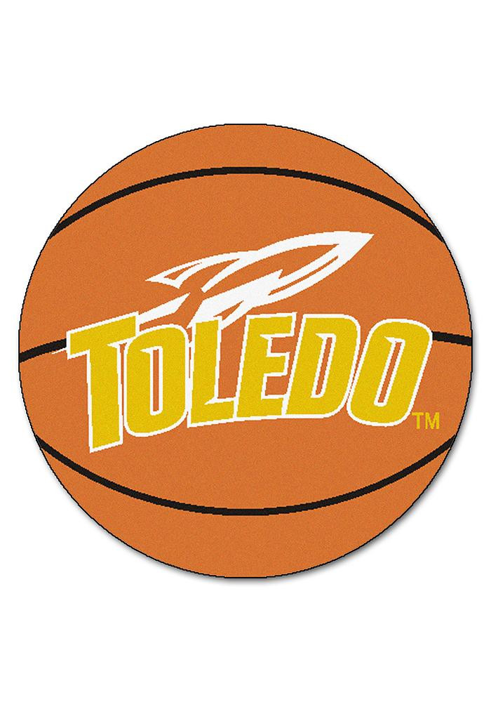 Toledo Rockets 27` Basketball Interior Rug - Image 1