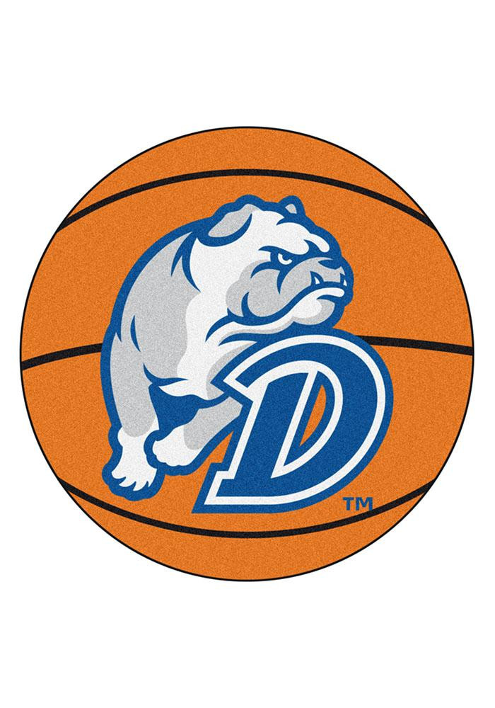 Drake Bulldogs 27` Basketball Interior Rug - Image 1