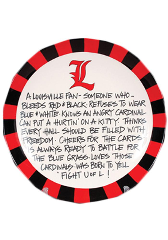 Louisville Cardinals Definition Plate - Image 1