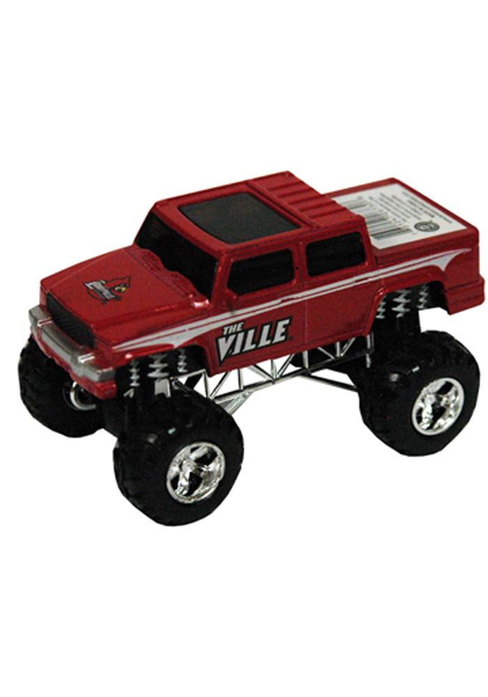 Louisville Cardinals Pull Back Car - Image 1
