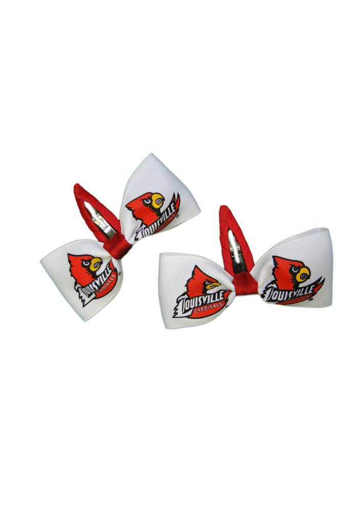 Louisville Cardinals Clippies Baby Hair Barrette - Image 1